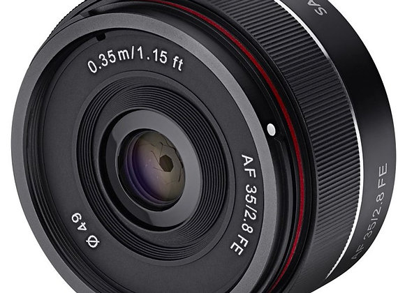 עדשת סאמיאנג Samyang for Sony E AF 35mm F2.8 Sony FE Auto Focus