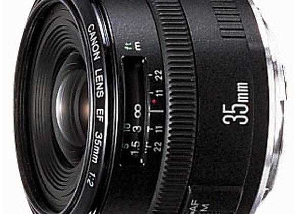 עדשה קנון Canon lens EF 35mm f/2.0 IS USM