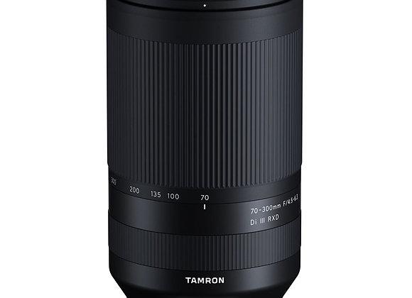 עדשת טמרון Tamron 70-300mm F4.5-6.3 for Sony E mount - יבואן רשמי