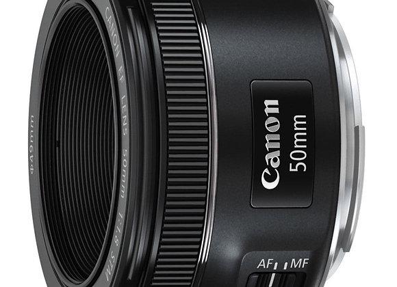 עדשה קנון Canon lens EF 50mm f/1.8 STM Lens