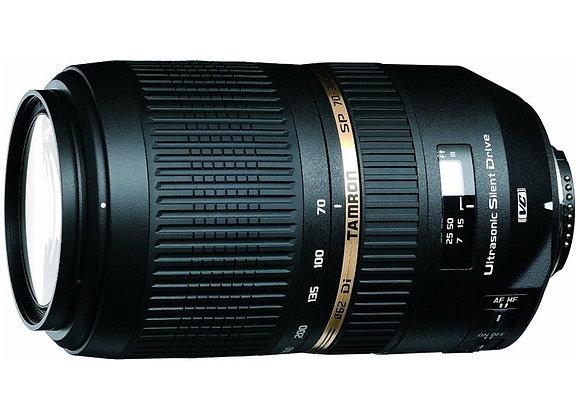 עדשת טמרון Tamron for Nikon 70-300mm f/4-5.6 VC USD - יבואן רשמי
