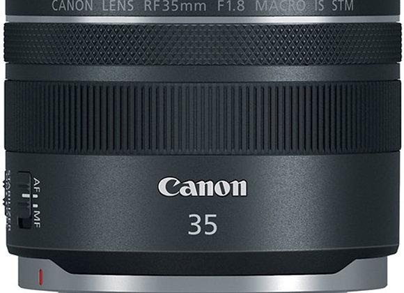 עדשת קנון Canon RF lens 35mm 1.8 RF STM קרט יבואן רשמי