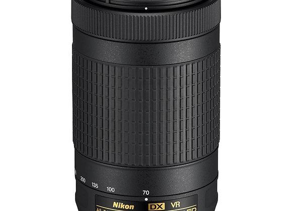 Nikon Lens AF-P DX NIKKOR 70-300mm f/4.5-6.3G ED עדשה ניקון - יבואן רשמי