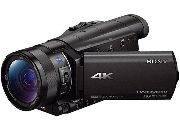 מצלמת וידאו חצי מקצועי סוני Sony Fdr-Ax100e