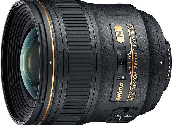 Nikon Lens 24mm f/1.4G AFS עדשה ניקון - יבואן רשמי