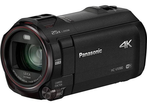 מצלמת וידאו מתקדמת פאנסוניק Panasonich Hc-Vx980