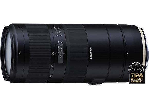 עדשת טמרון Tamron for Canon 70-210mm f/4 VC - יבואן רשמי