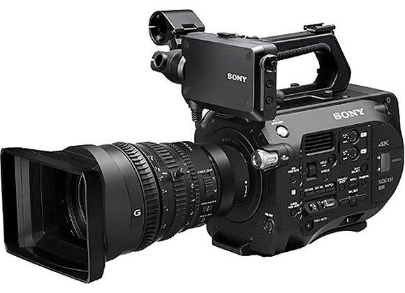 מצלמת וידאו מקצועי סוני Sony Pxw-Fs7 4k Xdcam Super35 Camcorder