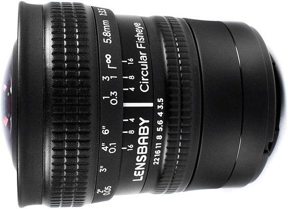 עדשה לנסבייבי Lensbaby lens for Micro 4/3 Cicrular fisheye