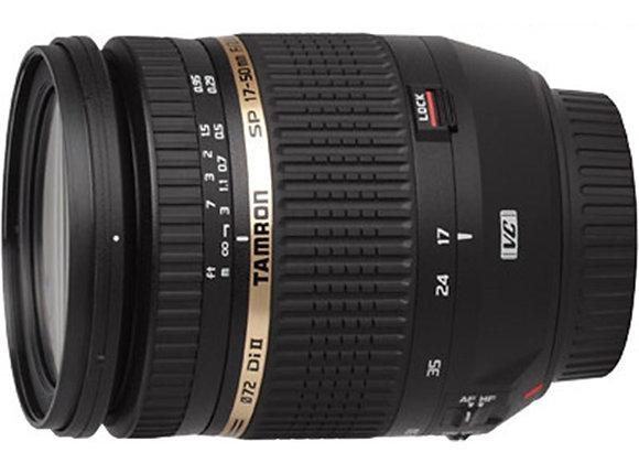 עדשת טמרון Tamron for Canon SP AF 17-50mm F/2.8 VC XR Di ll LD Aspherical IF - י