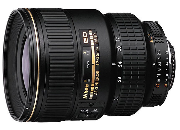 Nikon Lens 17-35mm f/2.8 D IF-ED AF-S עדשה ניקון - יבואן רשמי