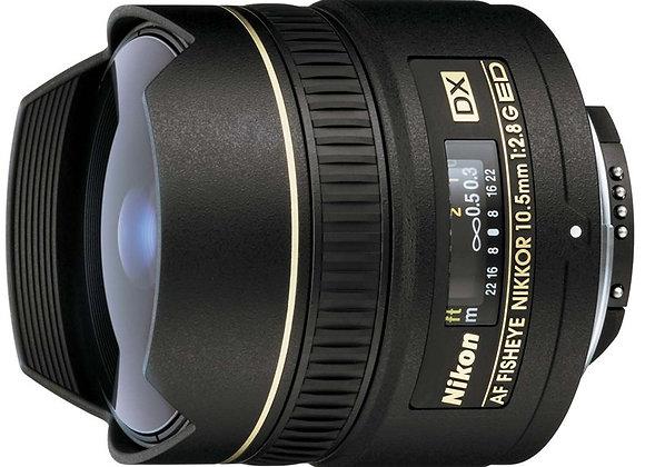 Nikon Lens 10.5mm f/2.8 G ED FISHEYE עדשה ניקון - יבואן רשמי