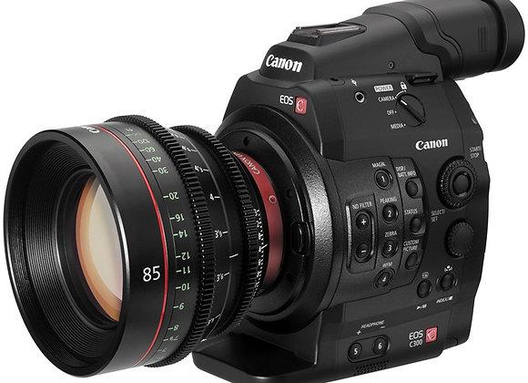מצלמת וידאו מקצועי קנון Canon EOS C300 Cinema EOS Camcorder