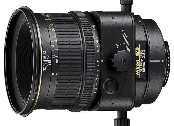 Nikon Lens 85mm f/2.8 D PC-E Micro עדשה ניקון - יבואן רשמי