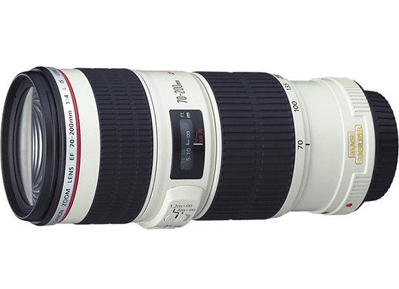 עדשה קנון Canon lens 70-200mm f/4 L IS USM