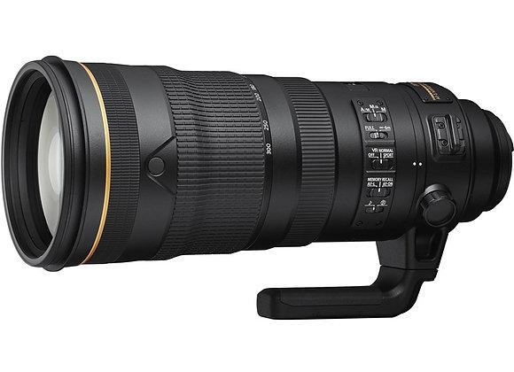 Nikon Lens AF-S NIKKOR 120-300MM F/2.8E FL ED SR VR עדשה ניקון - יבואן רשמי