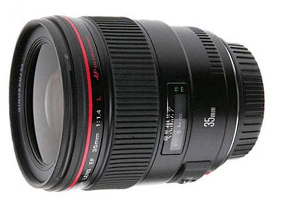 עדשת קנון Canon lens 35mm f/1.4 L USM