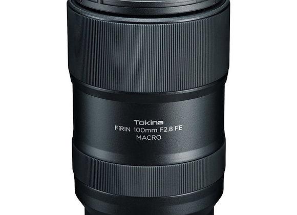 עדשת טוקינה Tokina FiRIN 100mm f/2.8 FE Macro for Sony E