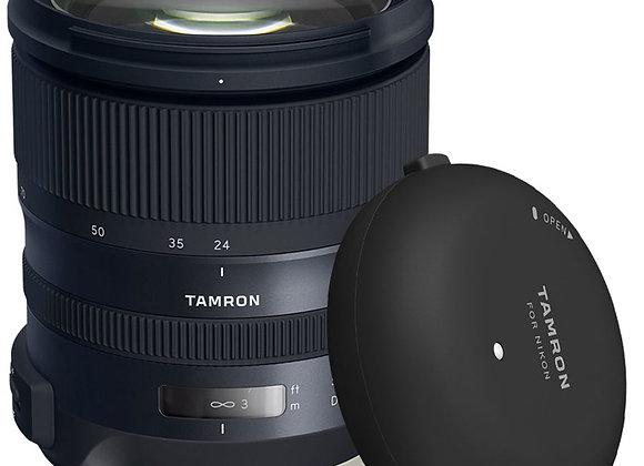 מצבע לזמן מוגבל בלבד! Tamron SP 24-70mm f/2.8 Di VC USD G2 Lens +Tamron Tap-in C