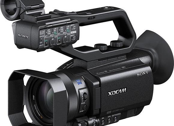 מצלמת וידאו מקצועי סוני Sony Pxw-X70 Hd Professional Palm Camcorder With 4k Upgr