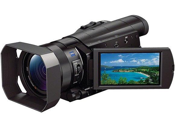 מצלמת וידאו חצי מקצועי סוני Sony HDR-CX900 Full HD Handycam Camcorder