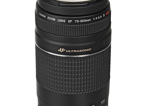עדשה קנון Canon lens 75-300mm f/4-5.6 III קרט יבואן רשמי