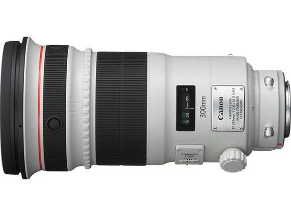 עדשה קנון Canon lens 300mm f/2.8 L IS USM