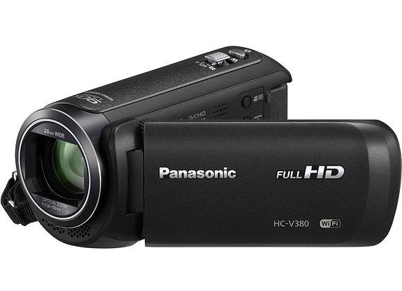 מצלמת וידאו חצי מקצועי פנסוניק Panasonic HC-V380K Full HD Camcorder
