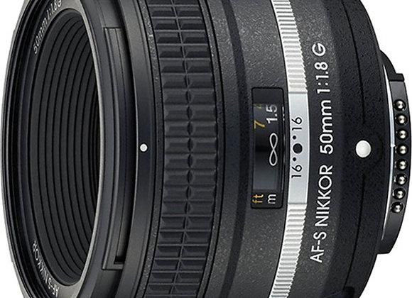 Nikon Lens 50mm f/1.8G Special Edition עדשה ניקון - יבואן רשמי