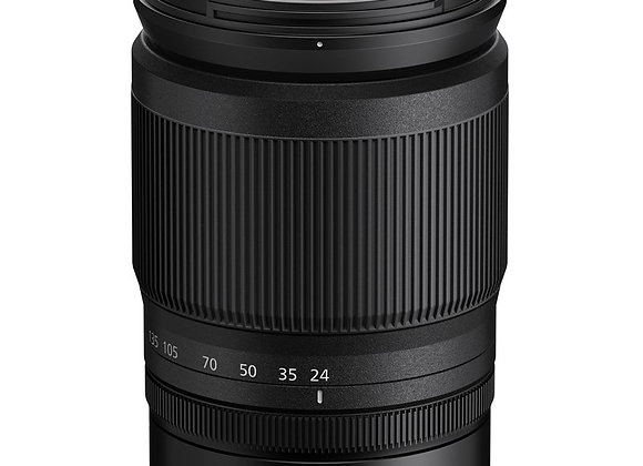 Nikon Z Lens Nikkor Z 24-200mm f/4-6.3 VR עדשה ניקון - יבואן רשמי