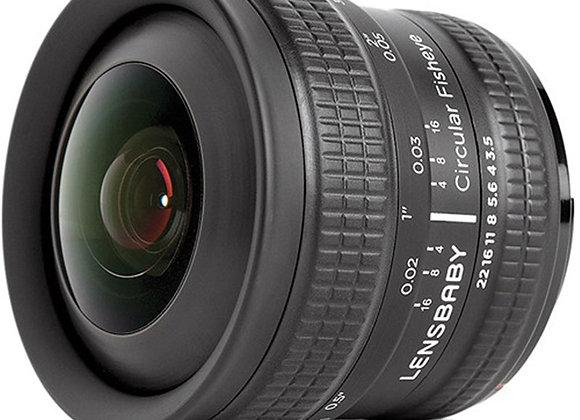 עדשה לנסבייבי Lensbaby lens for Fujifilm X Circular Fisheye