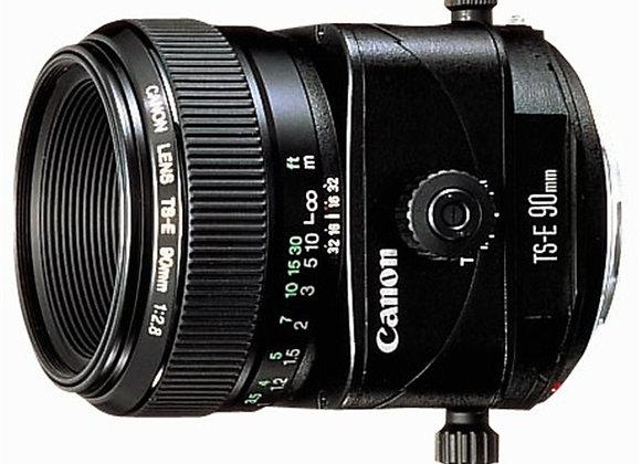 עדשת קנון Canon tilt&shift lens TS-E 90mm f/2.8
