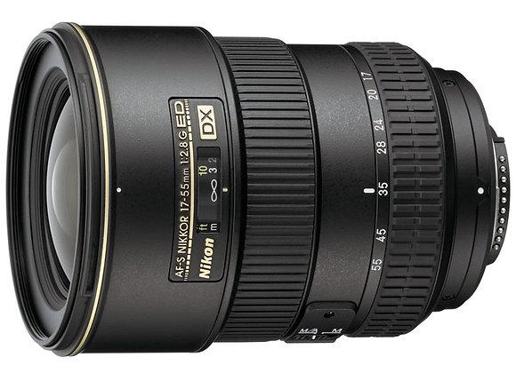 Nikon Lens 17-55mm f/2.8 G IF-ED AF-S DX עדשה ניקון - יבואן רשמי
