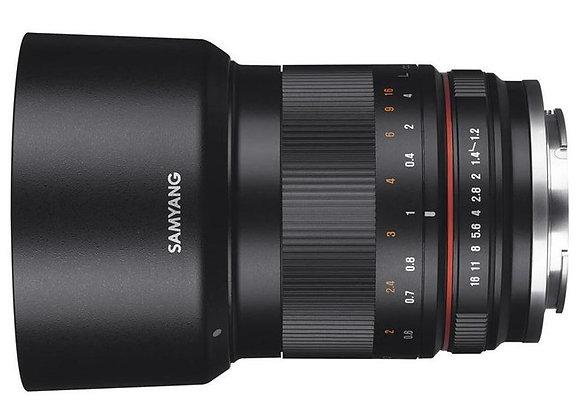 עדשה סאמיאנג Samyang for Canon M 50mm F1.2 AS UMC CS
