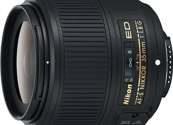 Nikon Lens 35mm f/1.8G ED עדשה ניקון - יבואן רשמי