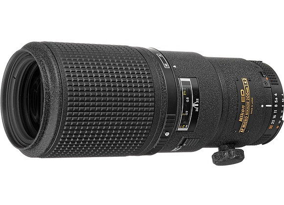 Nikon Lens 200mm f/4 AF-D MICRO עדשה ניקון - יבואן רשמי