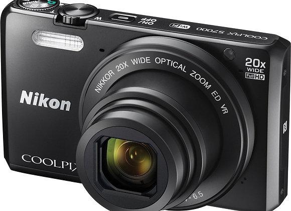 Nikon COOLPIX S7000 מצלמה קומפקטית ניקון - יבואן רשמי