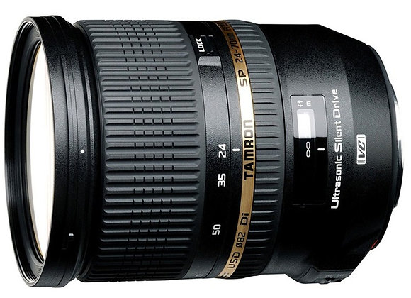 עדשה טמרון Tamron for Canon 24-70 mm f/2.8 DI VC US - יבואן רשמי