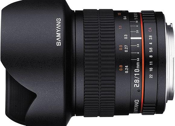 עדשת סאמיאנג Samyang for Canon 10mm f/2.8 ED AS NCS CS