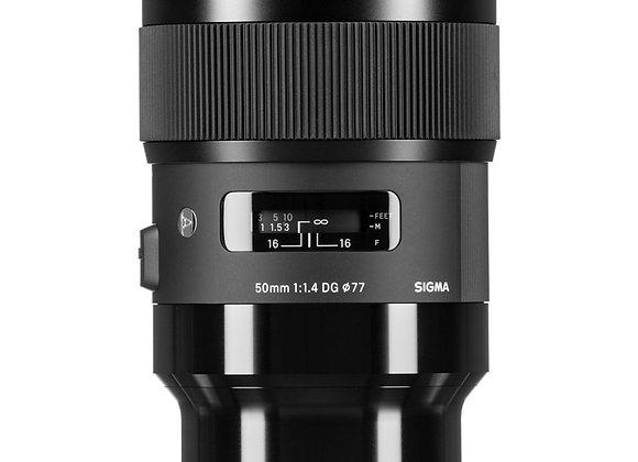 עדשת סיגמא Sigma for Leica L 50mm1.4 ART HSM