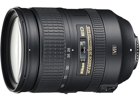 Nikon Lens 28-300mm f/3.5-5.6G ED-IF AF-S VR עדשה ניקון - יבואן רשמי