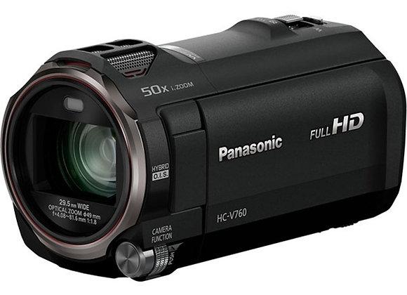 מצלמת וידאו מתקדמת פנסוניק Panasonic HC-V760