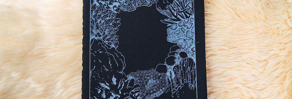 Bleached Coral Silkscreen Posters
