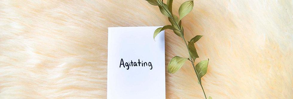 Agitated