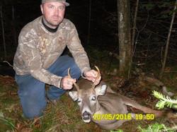 Brett shot this buck on 10/5