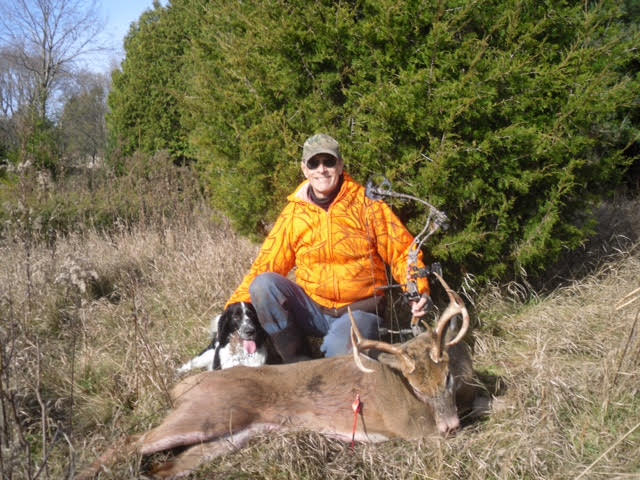 Rick shot this 8-pointer
