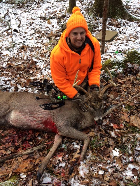 Tanner Shot this 7-point Buck