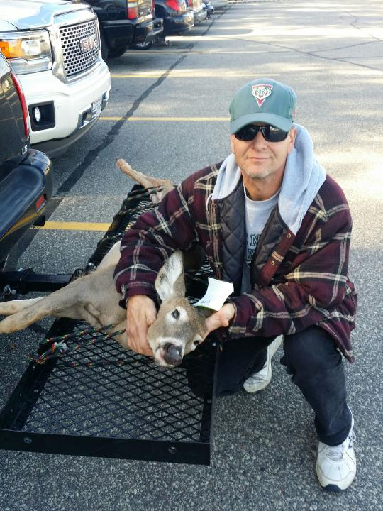 Nub buck killed by Allen Beck