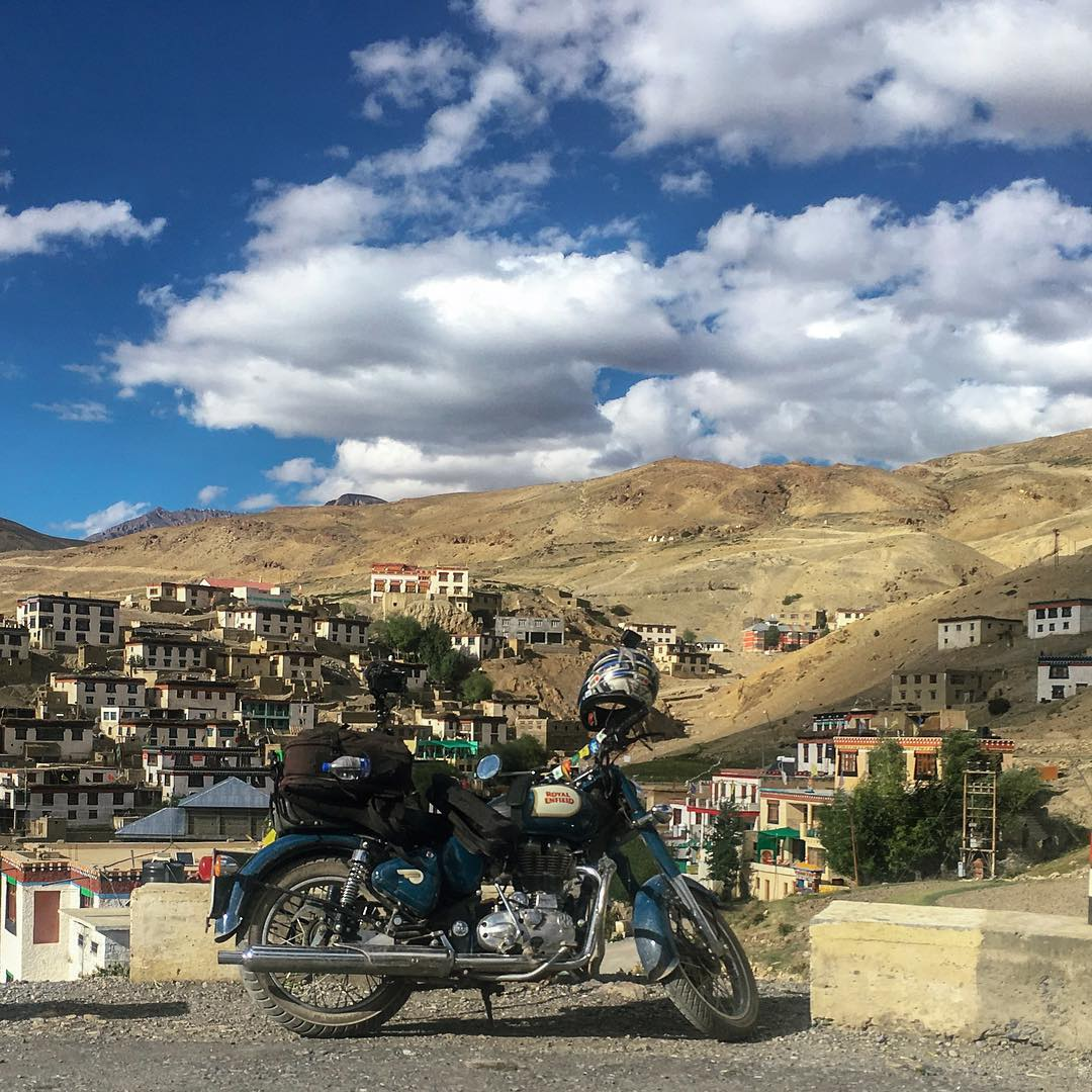 Kibber village in the Spiti Valley