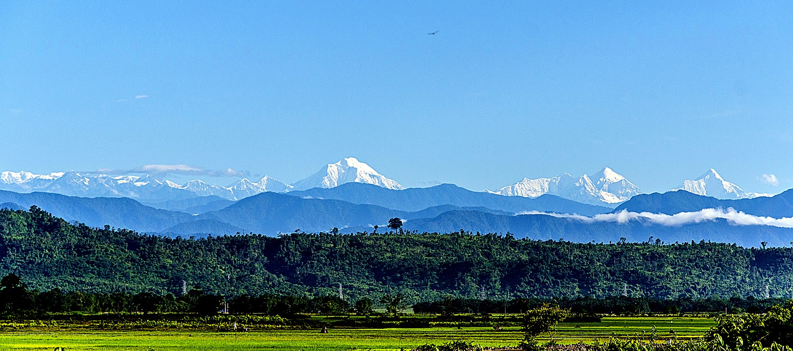 The Himalayas in Arunachal Pradesh